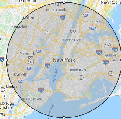 areas served new york