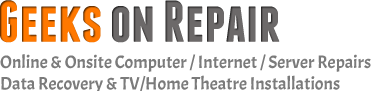 geeks on repair logo